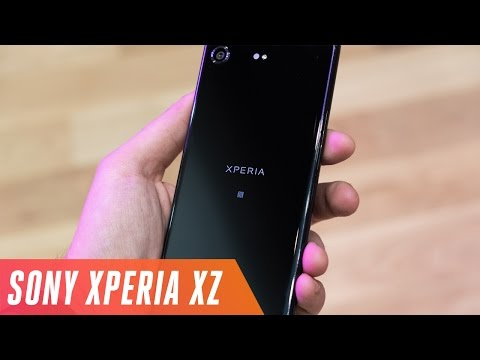 Sony Xperia XZ Premium first look