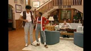 Steve Urkel dance, set to Childish Gambino