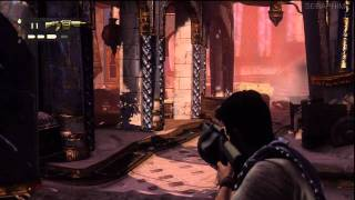 Uncharted 3 - Crushing Difficulty Walkthrough -21- The Atlantis of The Sands