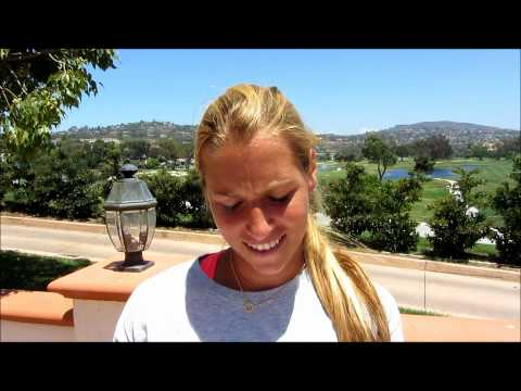 Mercury Insurance Open- Dominika Cibulkova answers Antonio's Twitter Question!
