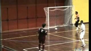 Brex Luca Reggiana calcio a 5 - Rosta Torino  pallonetto da 34m