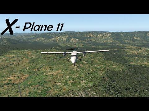 X-Plane 11.21! Mt. Giluwe! Papua New...