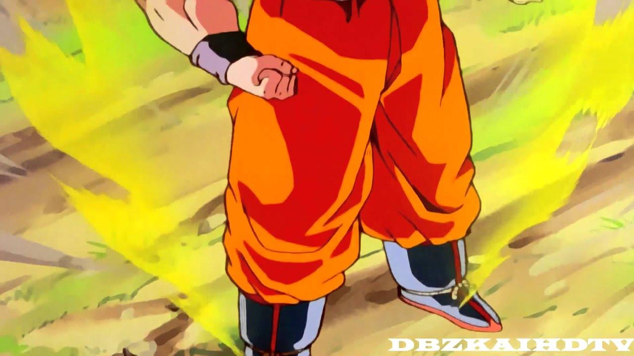 Goku Hd Wallpapers 1080p Dbz Kai Goku Turns Super Saiyan Infront The Androids
