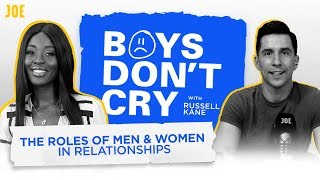 Russell Kane & AJ Odudu: Gender roles in society, manliness and threesomes | Boys Don't Cry | S2 E10