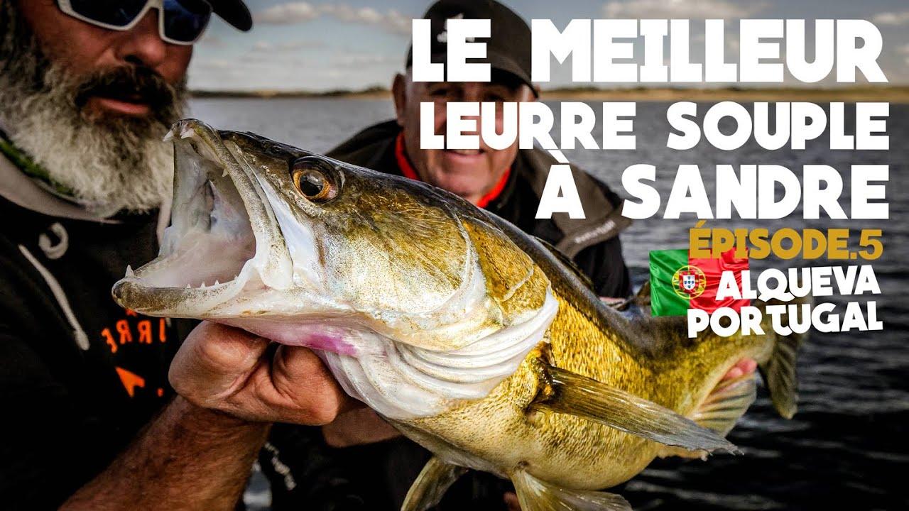 Pêche du Sandre au Portugal au Speed Slim Delalande Pêche.
