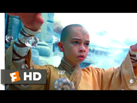 The Last Airbender (2010) - Aang Vs. Master Pakku Scene (4/10) | Movieclips