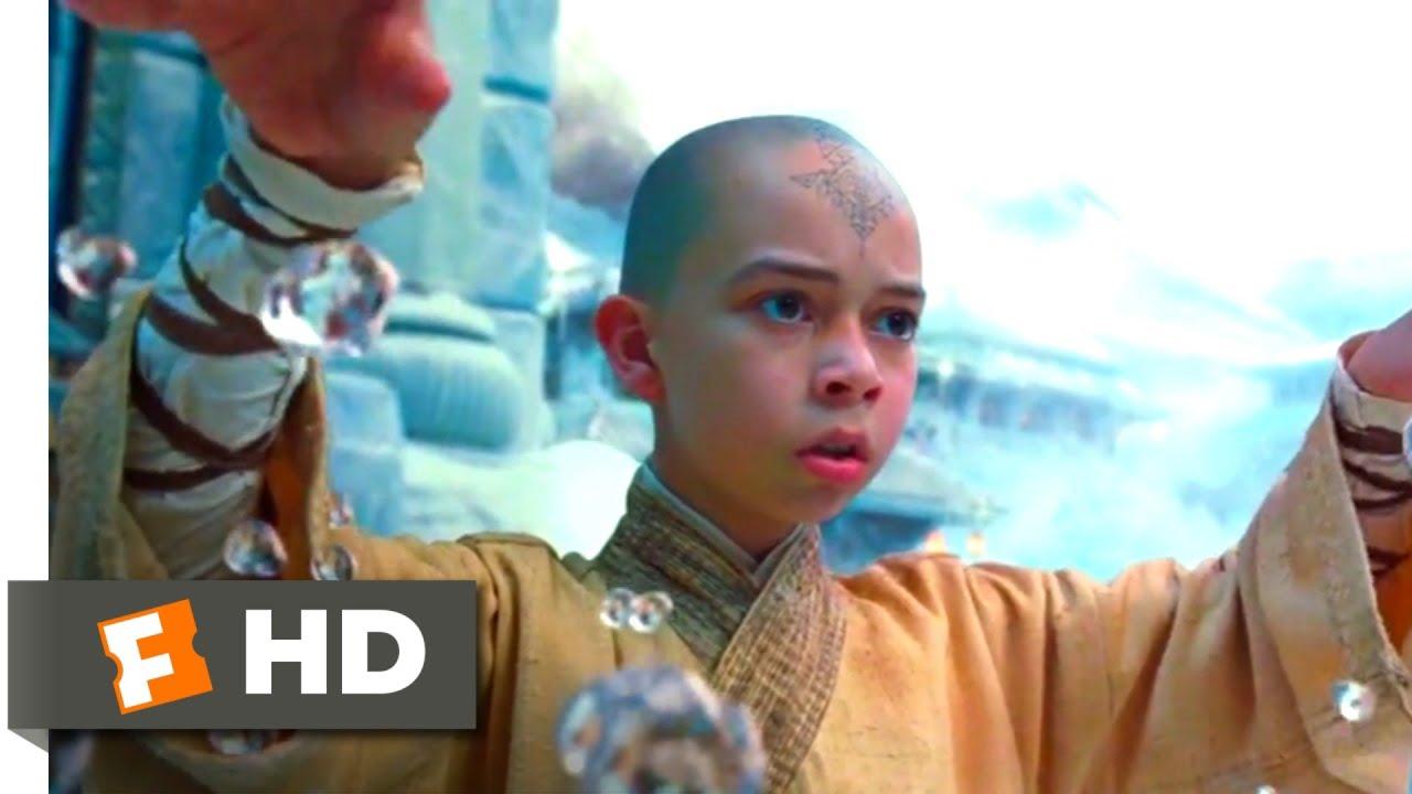 The Last Airbender 2010 Aang Vs Master Pakku Scene 4 10 Movieclips Youtube