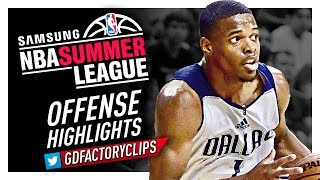 Dennis Smith Jr. 2017 Summer League Offense Highlights - Dallas Mavericks Debut!