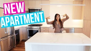 TOURING NEW APARTMENTS!!