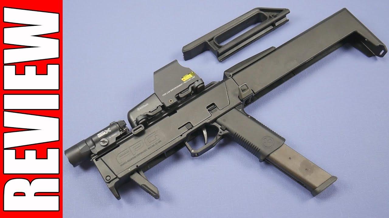 review pts folding pocket gun fpg kwa ksc g18c magpul youtube