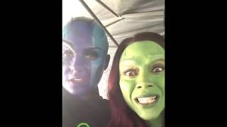 Karen Gillan as Nebula — Funny compilation