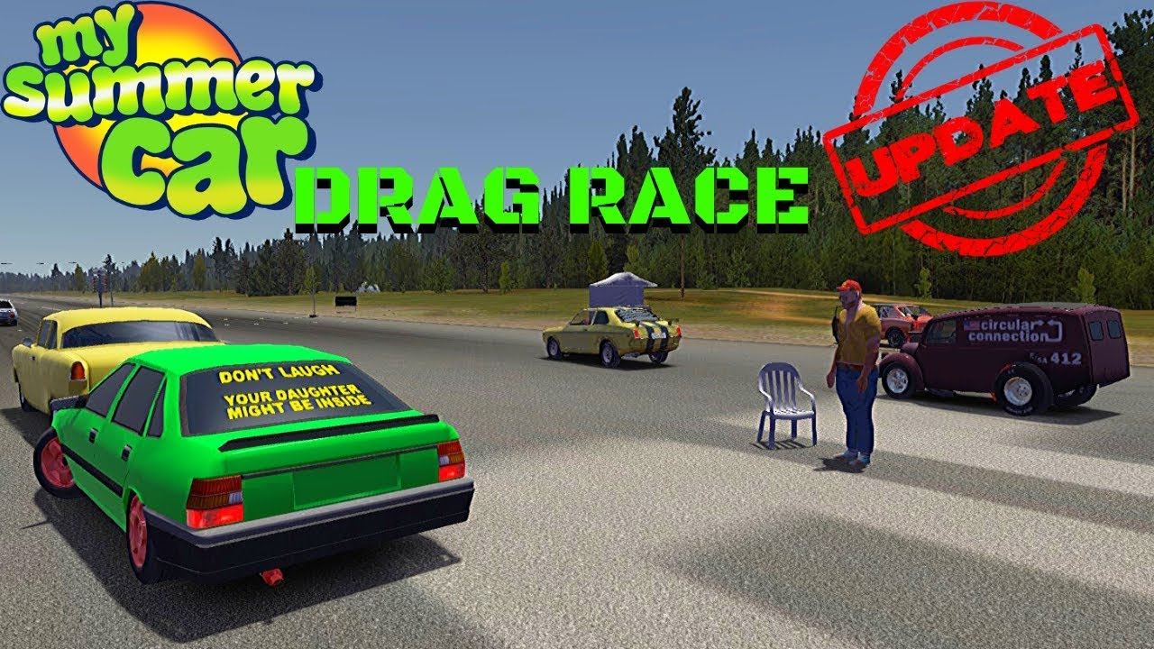 Drag Race And New Drag Cars My Summer Car Update 26 Radex