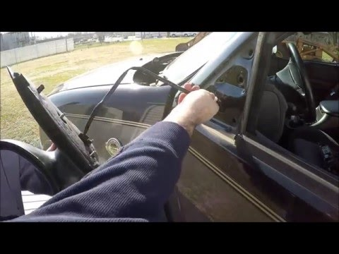 CheapAssHack - Ford F-150 97-03 How to COMPLETELY REPLACE Side Rear View Mirror - Save Hundreds!!!