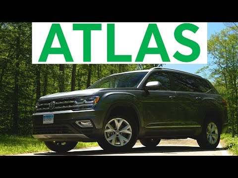 4K Review: 2018 Volkswagen Atlas Quick Drive | Consumer Reports