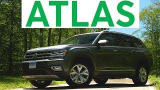 4K Review: 2018 Volkswagen Atlas Quick Drive | Consumer Reports