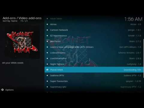 2019 April !!! new update How To Install Planet MMA Kodi Addon in 18