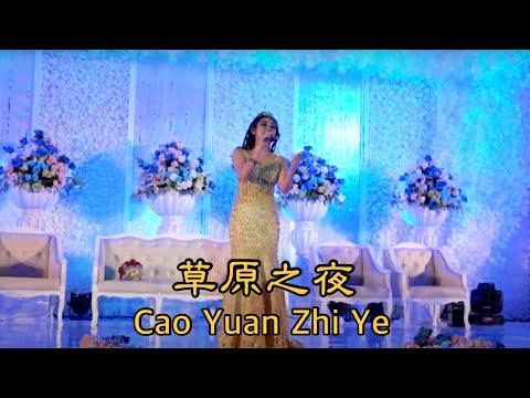 Mandarin Old Song  - Cao Yuan Zhi Ye 草原之夜 Helen Huang show @ Semarang
