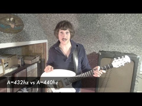 A=432hz vs A=440hz Tuning Comparison Test