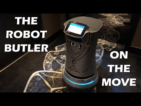 Quick Ride + A Robot Butler In Action - Hotel EMC2 In Chicago, IL