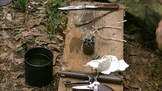 PERCUSSION REVOLVER SERIES  FIELD CLEANING