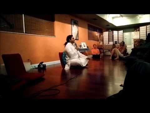 Mind & Meditation - A talk by Art of Living teachers, Rajesh Jagasia and Ronnie Newman.