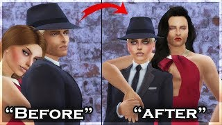 Turning My Husband👨‍💼 Into Girl!👩 - Transformation Story | Sims 4