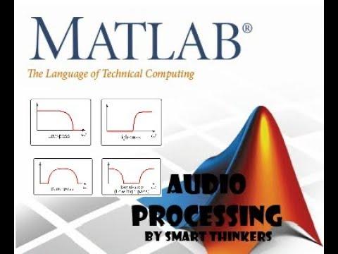 Audio Signal Processing Using Filter (LP, HP, BP, BS