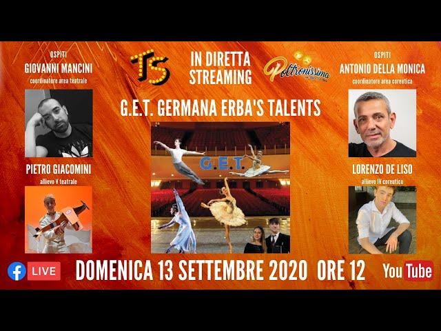 13.09.2020 - G.E.T. - Germana Erba's Talents
