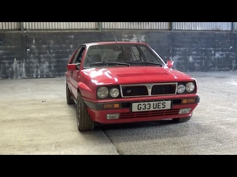 Lancia Delta Integrale 16V - Test Drive and Update