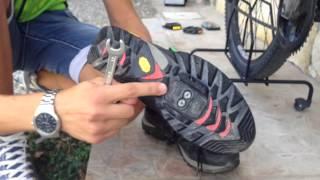 Bike-Mania tutorial #1 SOSTITUIRE PEDALI & MONTAGGIO TACCHETTE