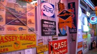 Spomer Classics - Farm / agricultural equipment implement neon, porcelain advertising signs