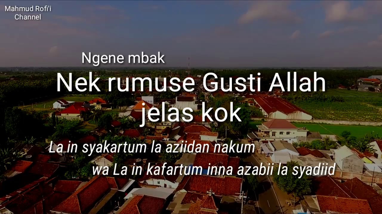 Kata Bijak Cak Nun Syukur Nasehat Cak Nun Untuk Pedagang YouTube