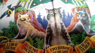 """Мои новые книги"""" Коты - Воители""""(читайте описание"""