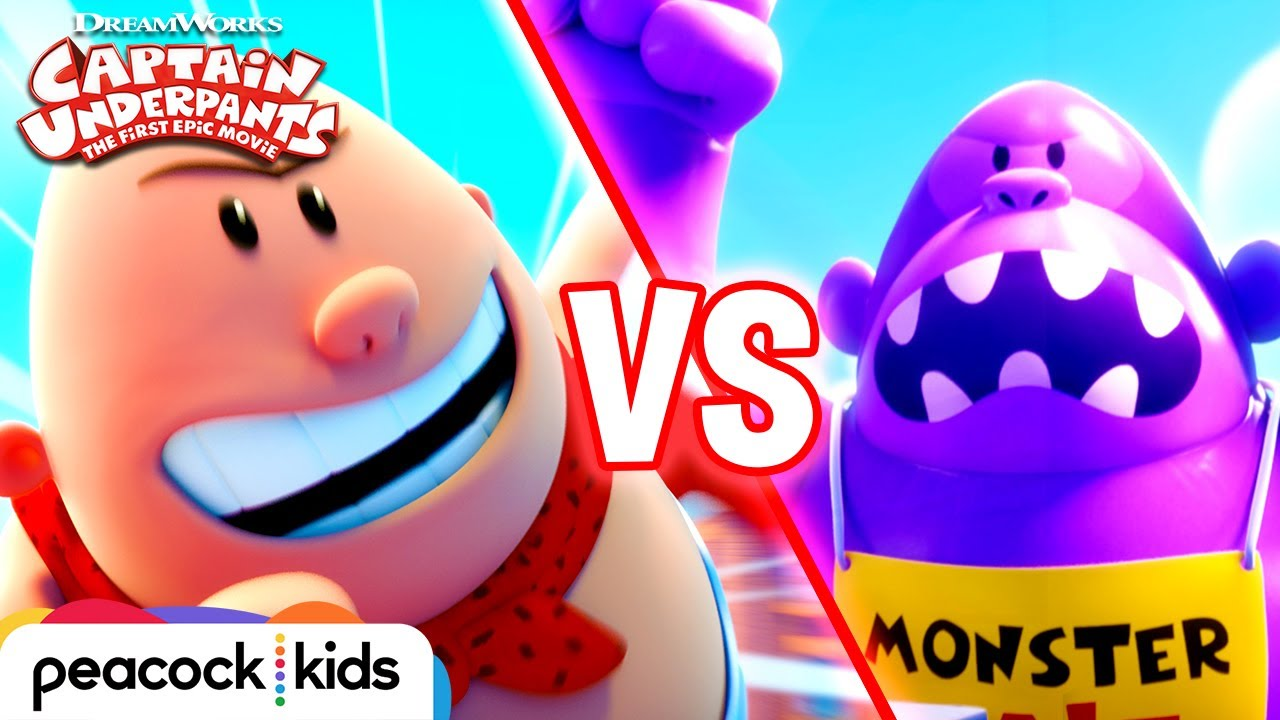 Captain Underpants Vs Inflatable Ape Captain Underpants The First Epic Movie Youtube