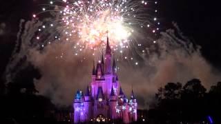 Magic Kingdom 4th of July Fireworks 2012 FULL SHOW