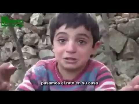 Siria - El Niño del ISIS que fue usado para las propagandas contra Bashar al-assad