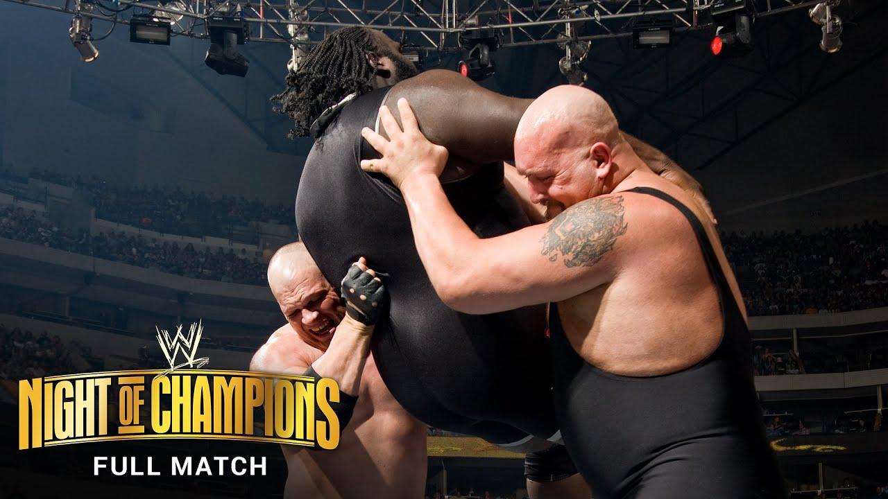 FULL MATCH: Kane vs. Mark Henry vs. Big Show - ECW Championship Match: WWE Night of Champions 2008