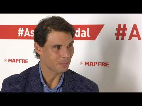 Rafael Nadal answers questions from fans on Twitter (Madrid, 5 Feb 2018)
