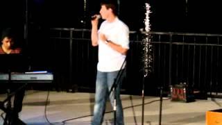 Tyler Lillestol Performing at Dos Lagos