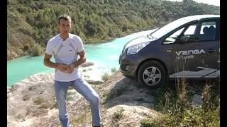 Минивэн Kia Venga тест-драйв путешествие Автопанорама