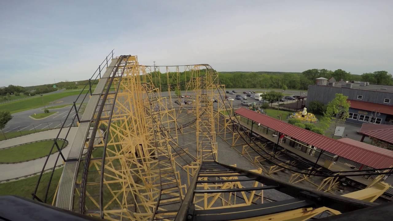 Wildcat Roller-Coaster Mounted POV Adventure Park USA Maryland ...