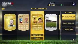 FIFA 15 | Pack Opening | Fitness Cards OP