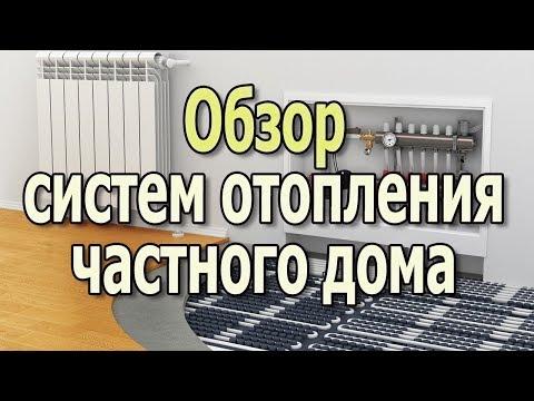 видео: Системы отопления частного дома. Отопление дома своими руками.(Видеоурок)