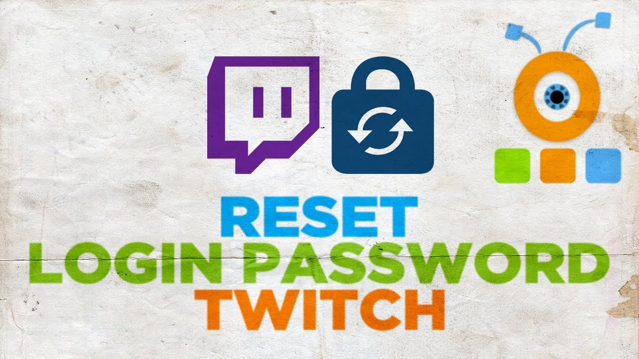 How to Reset Twitch Login Password