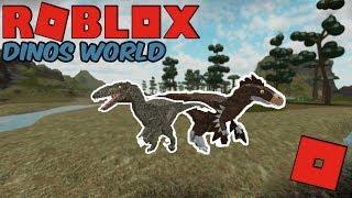 Roblox Dinos World - NEW DINOS AND REMAKES! (Deinonychus, Utahraptor Remake!)