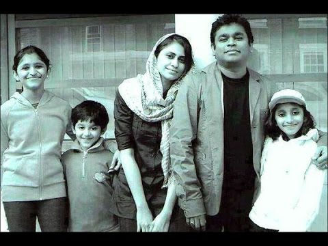 A.R. Rahman family Photos | Rahman's wife, daughters, son and friends | Must Watch Rare Photos