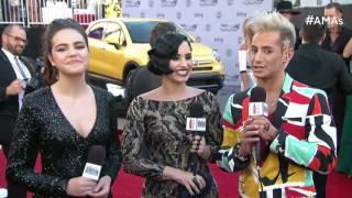 Demi Lovato Red Carpet Interview - AMAs 2015