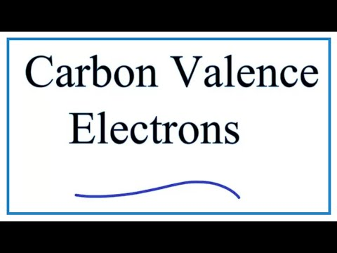 Valence Electrons In Carbon (C)