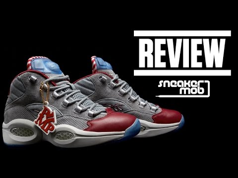 d4a1befa Reebok Pump Question 'A Day In Philly' Review - YouTube