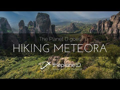 Hiking Magical Meteora | Greece Travel Vlog